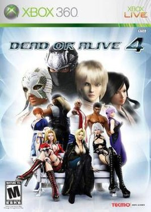 Dead or Alive 4 - North American cover art