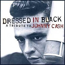 Dressed in black like johnny cash