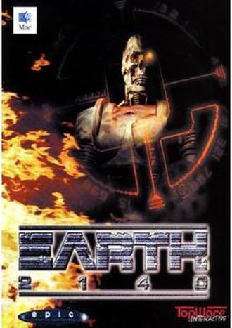 Earth 2140 - European cover art