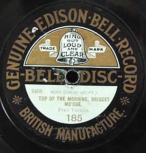 Edison Bell - early Edison Bell record label