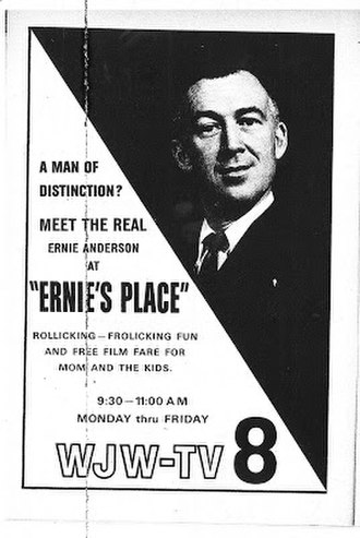Paul Thomas Anderson - Anderson's father, Ernie Anderson, in a 1961 advertisement.