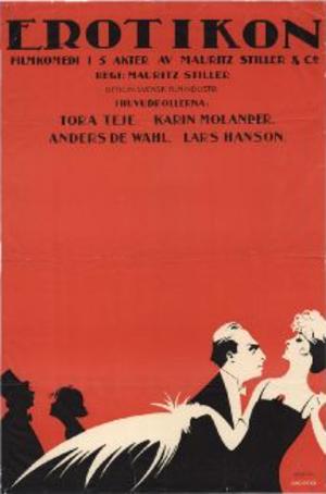 Erotikon (1920 film) - Theatrical release poster