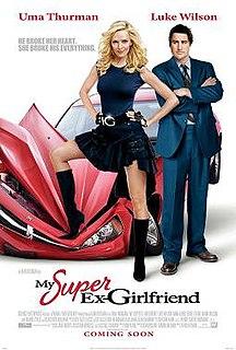 <i>My Super Ex-Girlfriend</i> 2006 film by Ivan Reitman