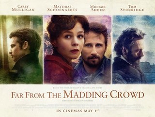 <i>Far from the Madding Crowd</i> (2015 film) 2015 film by Thomas Vinterberg