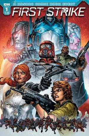 First Strike (IDW Publishing) - Image: First Strike issue 1 cover, IDW Publishing and Hasbro, April 2017