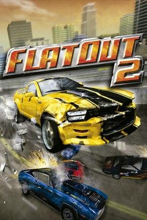 FlatOut 2 - FlatOut 2 European cover art
