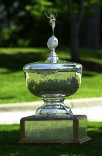 James E. Foy, V-ODK Sportsmanship Trophy - Image: Foy ODK Sportsmanship Trophy