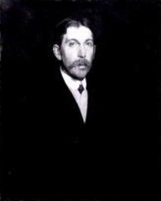 Frank Rutter - Frank Rutter, portrait by Gerald Kelly, 1910