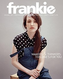 Frankie (magazine) issue 43 cover.jpg