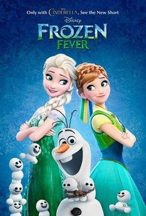 Frozen Fever - Image: Frozen Fever poster