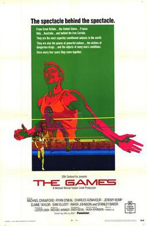 The Games (film) - Promotional poster
