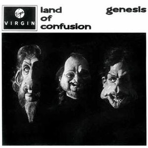 Land of Confusion - Image: Genesis Land of confusion single cover