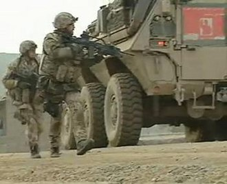 Counterinsurgency in Northern Afghanistan - Image: Germantroopsincharda ra 2