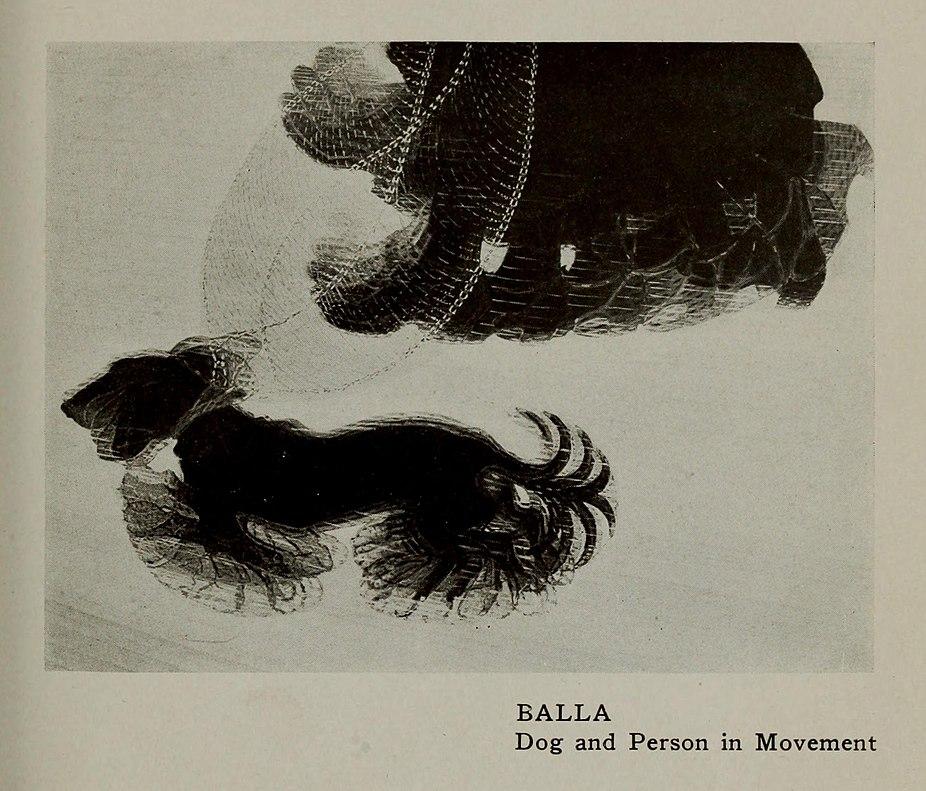 File:Giacomo Balla, 1912, Dinamismo di un Cane al ...