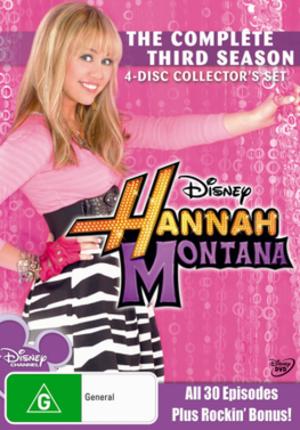 Hannah Montana (season 3) - Image: Hannah Montana season 3 DVD