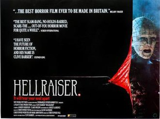 Hellraiser - Theatrical release poster