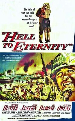 Hell to Eternity - Original film poster