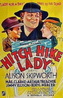 <i>Hitch Hike Lady</i> 1935 film by Aubrey Scotto