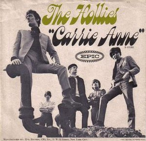 Carrie Anne - Image: Hollies Carrie Anne US