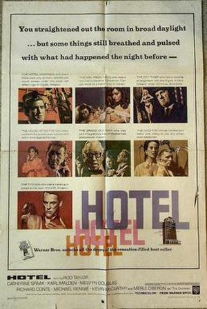 Hotel (1967 film) - Theatrical release poster