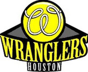 Houston Wranglers - Image: Houston Wranglers WTT Team Logo