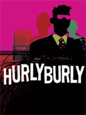 Hurlyburly - Theatrical poster for a 2007 production