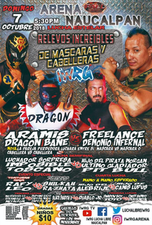 IWRG Relevos Increibles de Máscaras y Cabelleras 2018 International Wrestling Revolution Group event