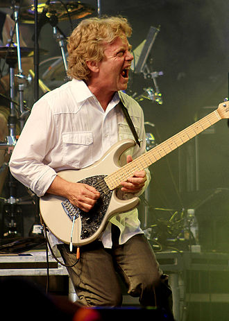 Saga (band) - SAGA's Ian Crichton in August 2011
