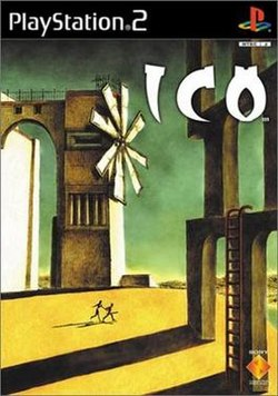 European and Japanese PlayStation 2 box cover for Ico