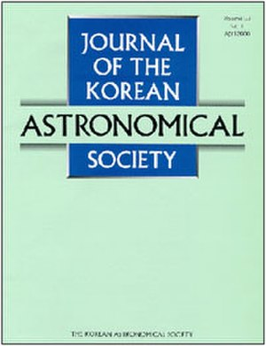 Journal of the Korean Astronomical Society - Image: JKAS journal cover