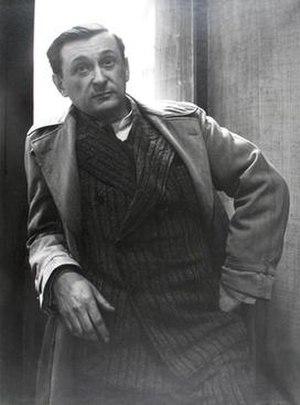 Jacques Lipchitz - Jacques Lipchitz, 1935, photograph Rogi André (Rozsa Klein)