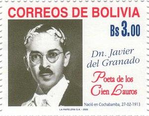 Javier del Granado - Image: Javier del Granado stamp