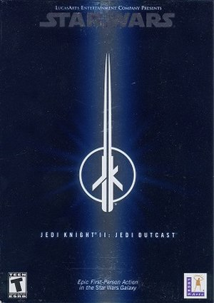 Star Wars Jedi Knight II: Jedi Outcast - Cover art