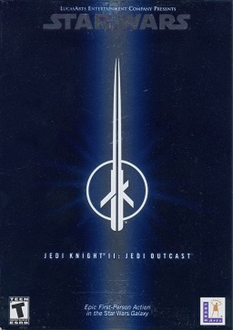 Star Wars Jedi Knight II: Jedi Outcast - Image: Jedi Outcast pc cover