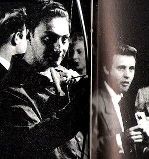 Jay W. Jensen - Jay W. Jensen(left) in the 1965 Mexican film, El Gangster