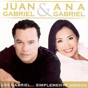 Los Gabriel... Simplemente Amigos - Image: Juananasimply