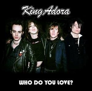 Who Do You Love? (album) - Image: King Adora, Who Do You Love? album artwork