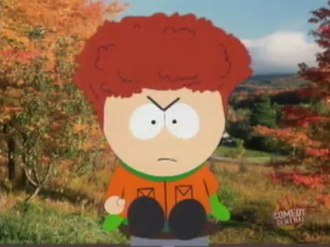 Kyle Broflovski - Kyle's hair, which is usually hidden underneath his hat