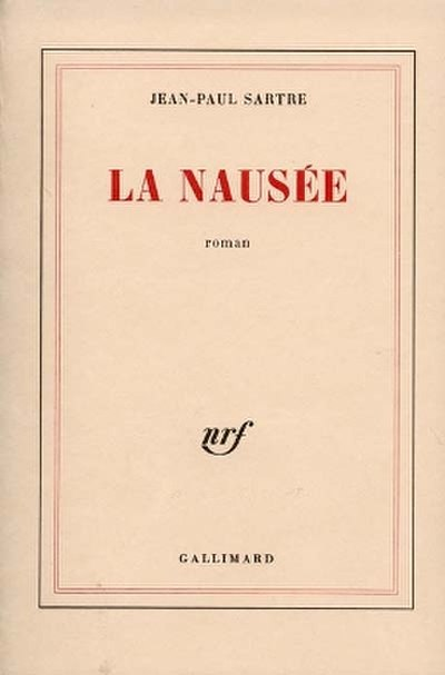 Picture of a book: Nausea