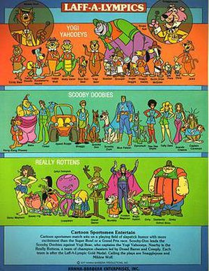 Laff-A-Lympics - The Laff-A-Lympics cast.