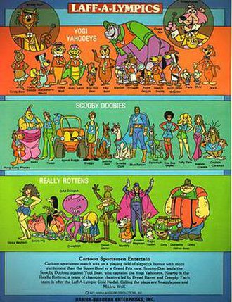 Laff-A-Lympics - The Laff-A-Lympics cast.