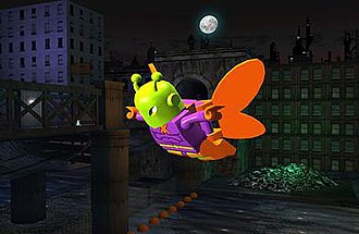 Killer Moth - Killer Moth in Lego Batman: The Video Game.