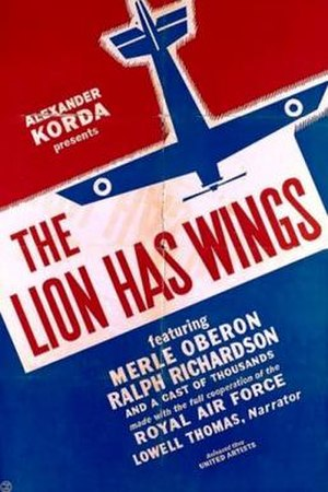 The Lion Has Wings - US theatrical release poster