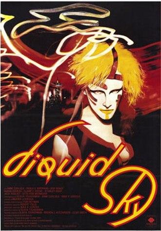 Liquid Sky - Theatrical poster