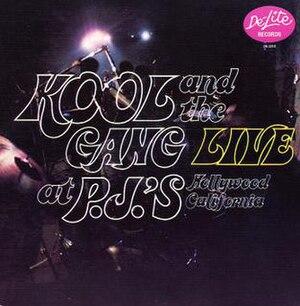 Live at PJ's - Image: Live at P Js 1971