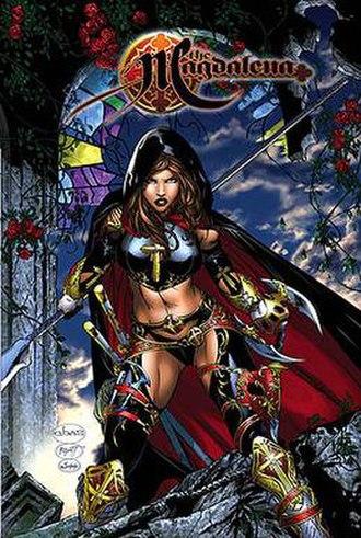 Eric Basaldua - Cover of Magdalena TPB by Basaldua