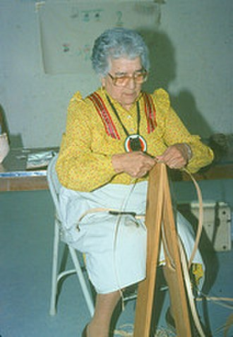 Mary Kawennatakie Adams - Image: Mary Kawennatakie Adams