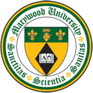Marywood University - Image: Marywood University seal