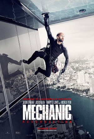 Mechanic: Resurrection - Theatrical release poster