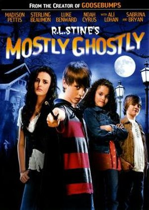 Mostly Ghostly: Who Let the Ghosts Out? - DVD cover